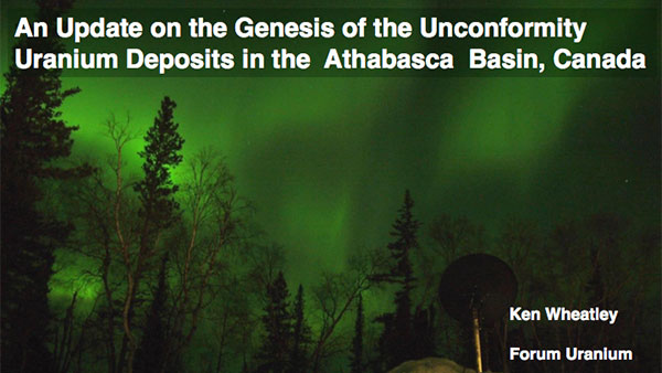 An Update on the Genesis of the Unconformity Deposits in the Athabasca Basin, Canada