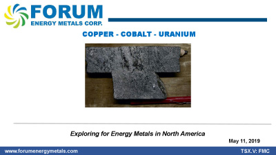 Exploring for Energy Metals In North America